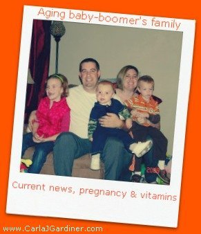 Current News, Pregnancy and Vitamins