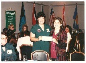 My first Bonus Check Las Vegas Directors Conference 1997