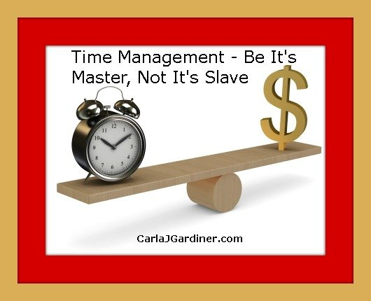 Time Management – Be It's Master, Not It's Slave