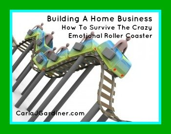 Building A Home Business – How To Survive The Crazy Emotional Roller Coaster