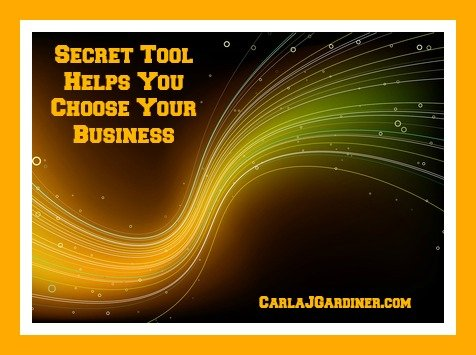 Secret Tool Helps You Choose Your Business