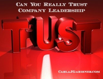Can You Really Trust Company Leadership