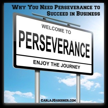 Why You Need Perseverance to Succeed in Business