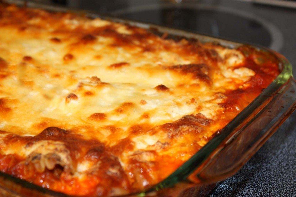 Fiery Grandma's Easy Bake Lasagna