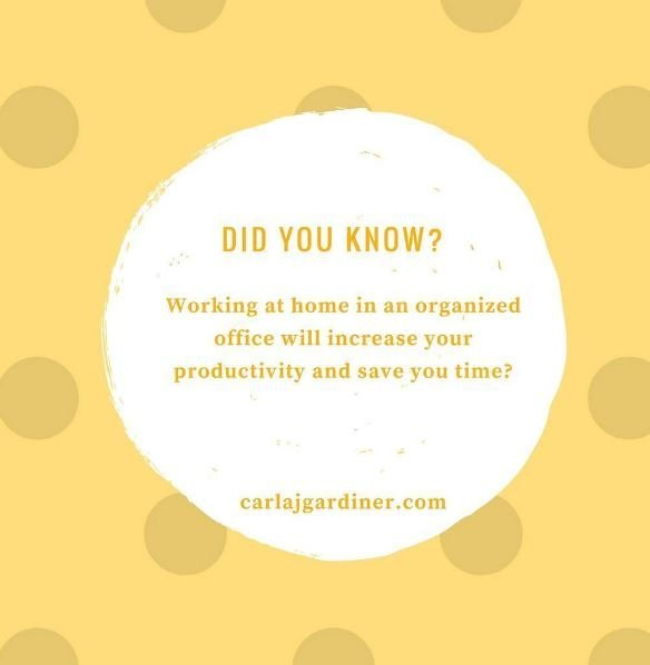 Work at Home in An Organized Way It Increases Productivity and Profits
