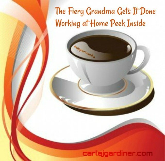 The Fiery Grandma Gets It Done Working at Home Peek Inside