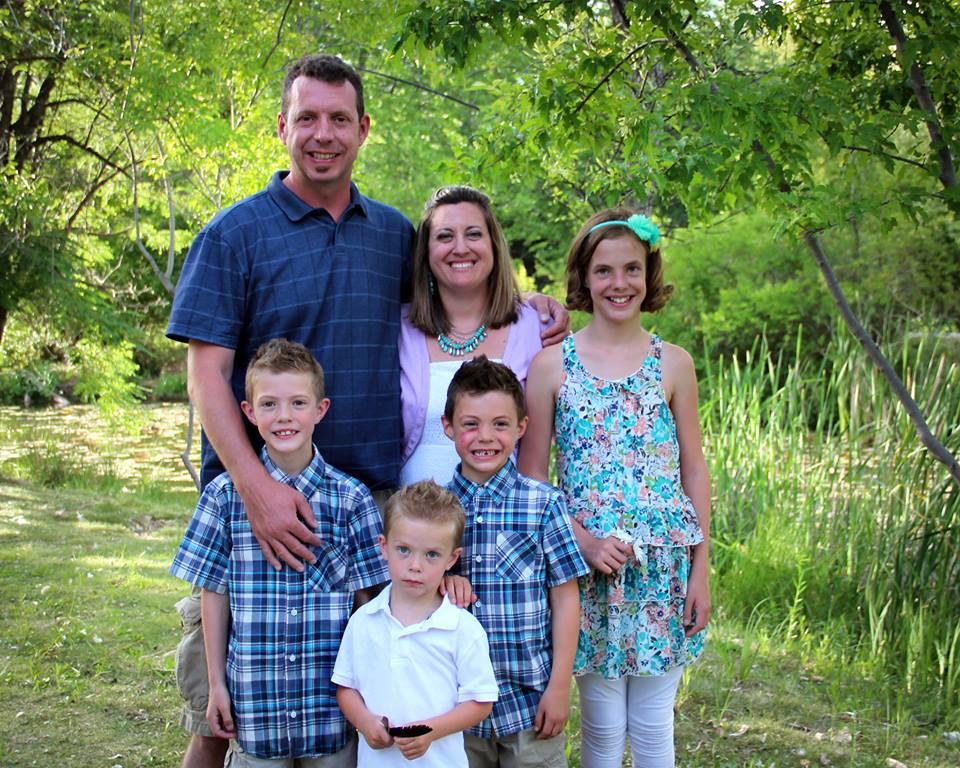 Pyles family photo