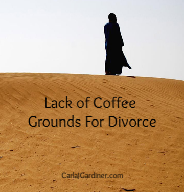 Lack of Coffee Grounds For Divorce