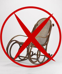 canva rocking chair 200