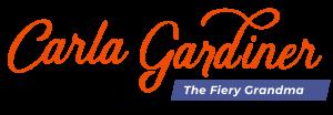 CarlaJGardiner The Fiery Grandma overlay signature