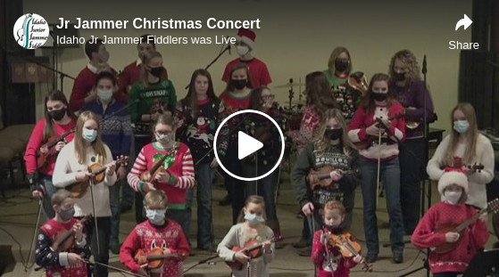 The Fiery Grandma's Grandsons Play With The Idaho Jr Jammers In Concert
