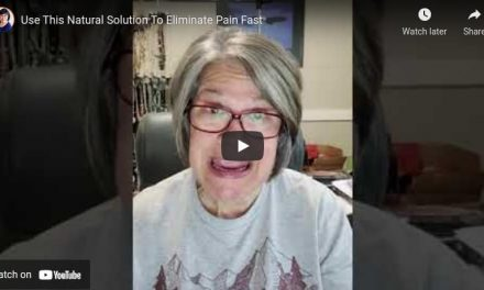 Use This Natural Solution To Eliminate Pain Fast